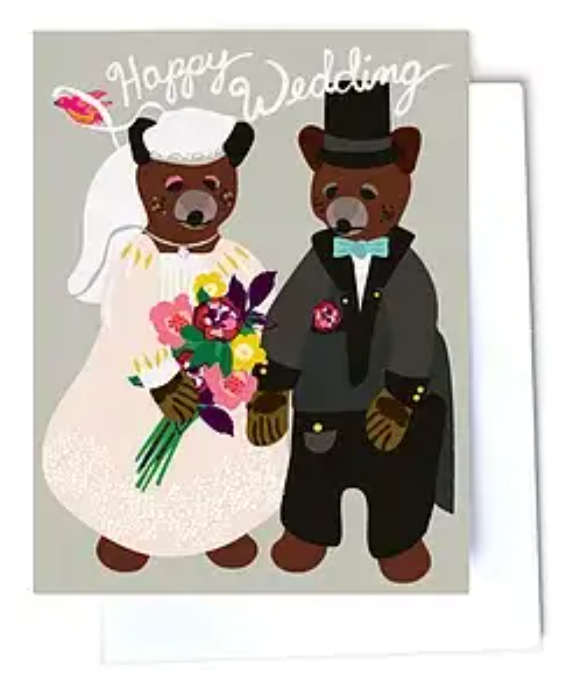 Happy Wedding Bears