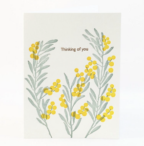 Acacia Berry Thinking of You Card