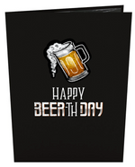 Load image into Gallery viewer, Beer-th Day 3D card