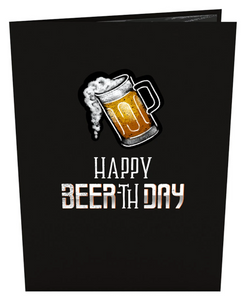 Beer-th Day 3D card