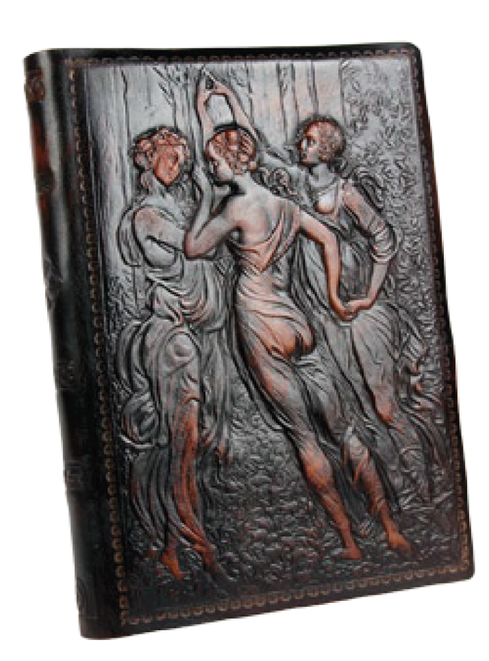Three Graces Leather Journal