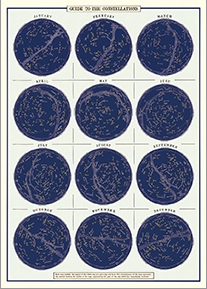 Decorative Paper - Guide to the Constellations