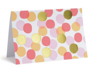 Polka Dot Note Cards - Set of 10