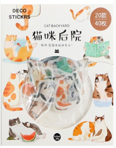 Kawaii Cat Planner Stickers