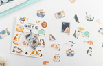Load image into Gallery viewer, Kawaii Cat Planner Stickers