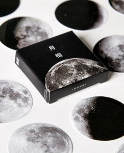 Moon Phase Planner Sticker Set