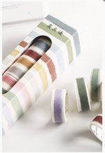 Load image into Gallery viewer, Watercolor Washi Tape Set