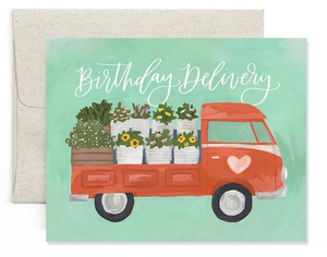 Flower Truck Birthday