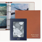"Load image into Gallery viewer, Pebble Leather Photo Album (13-1/8"" x 13"")"