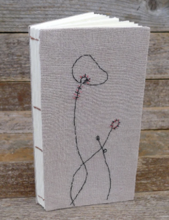 Kata Golda Embroidered Hemp Journal