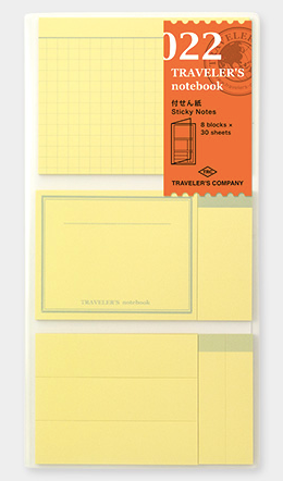 Traveler's Notebook Sticky Notes #022
