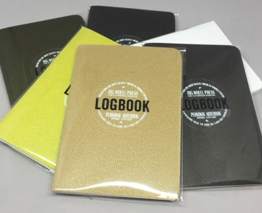 Big Wheel Press Veneer Logbook