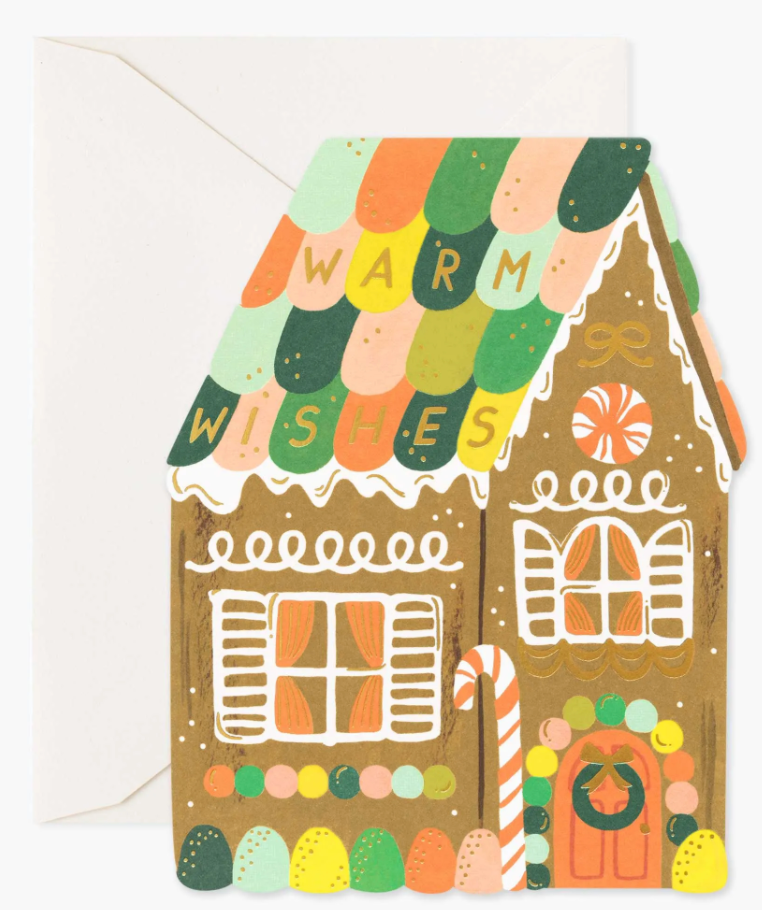 Gingerbread House Boxed Card Set of 8