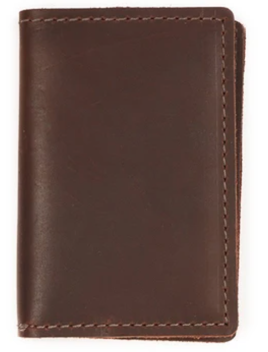 Refillable Pocket Leather Notebook