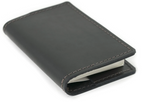 Load image into Gallery viewer, Refillable Pocket Leather Notebook