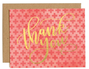 THANK YOU CROSSES - Boxed Set of 8