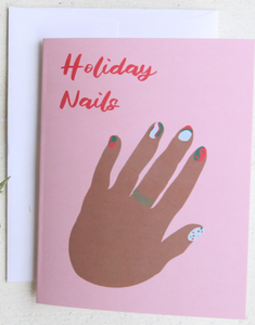 Holiday Nails Card