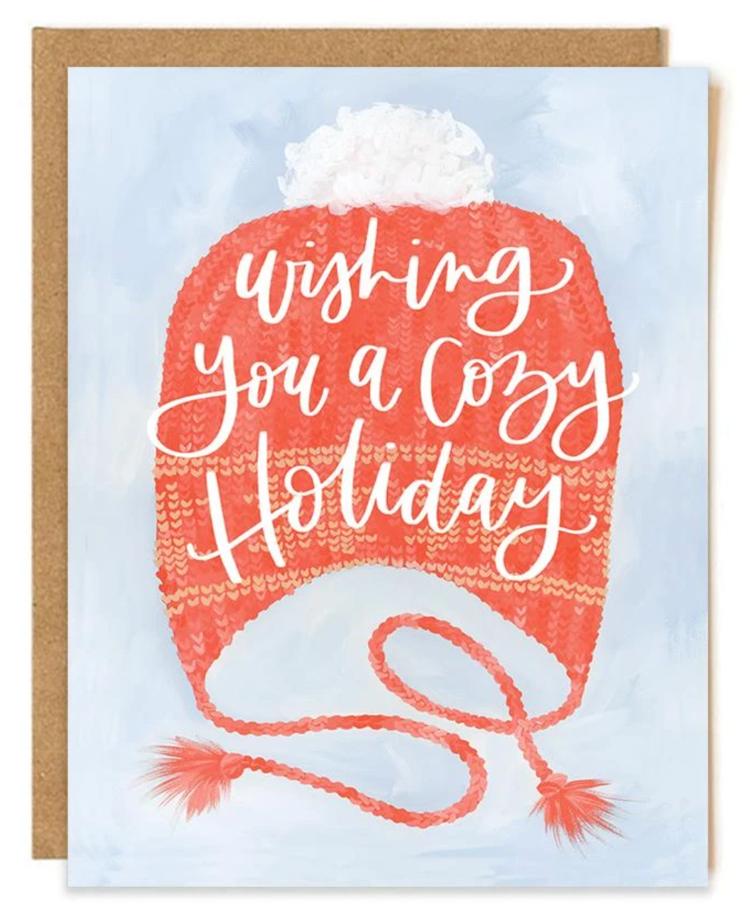 Cozy Holiday Hat Card- Boxed Set of 8