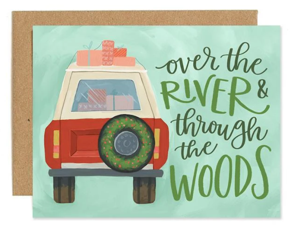 Holiday Jeep Card