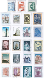 Load image into Gallery viewer, Vintage Stamp Stickers
