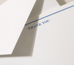 Load image into Gallery viewer, Crane Shaded Frame Thank You Card - Set of 10
