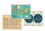 Load image into Gallery viewer, Map Poster Hanging Kit - Horizontal