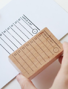 Bullet Journal Rubber Stamps