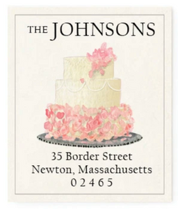 Return Address Labels - Wedding