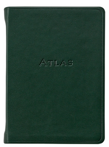 Leather Travel Atlas