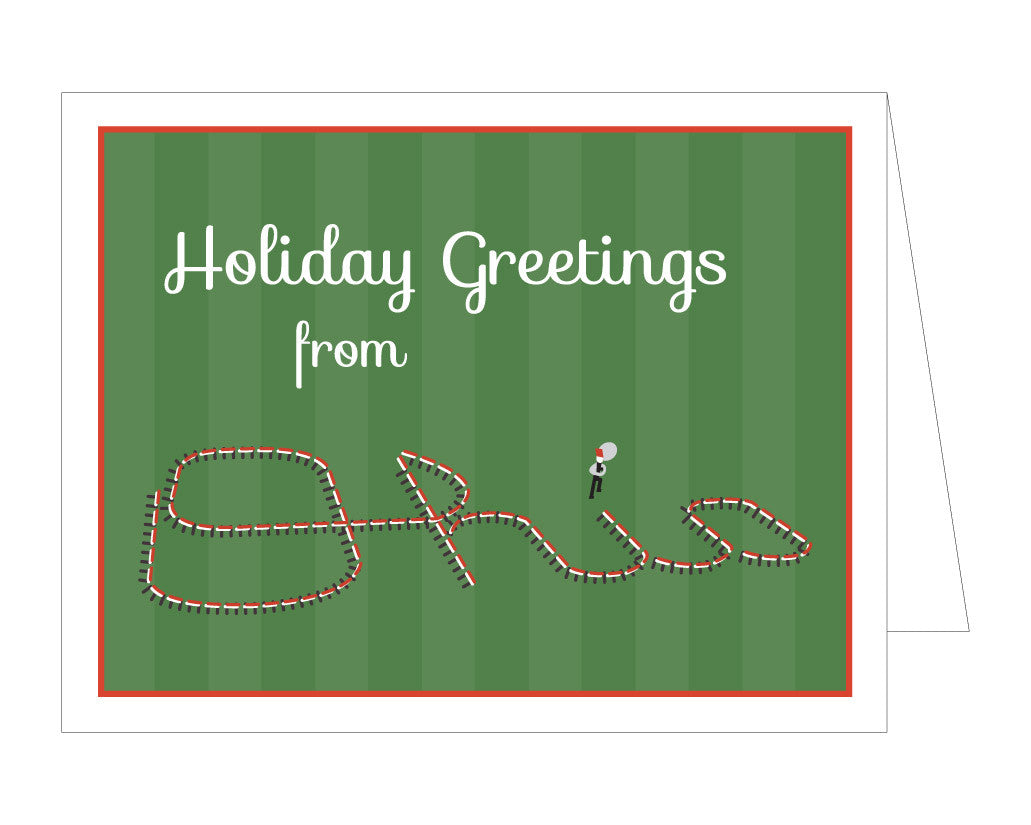 Script Ohio Holiday Card