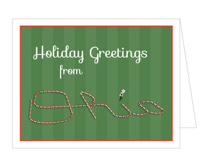 Script Ohio Holiday Card (Set of 8)