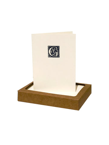 Seal Initial Note Cards
