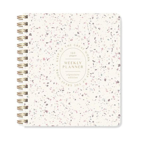 Terrazzo Non-Dated Weekly Planner