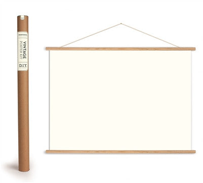 Map Poster Hanging Kit - Horizontal
