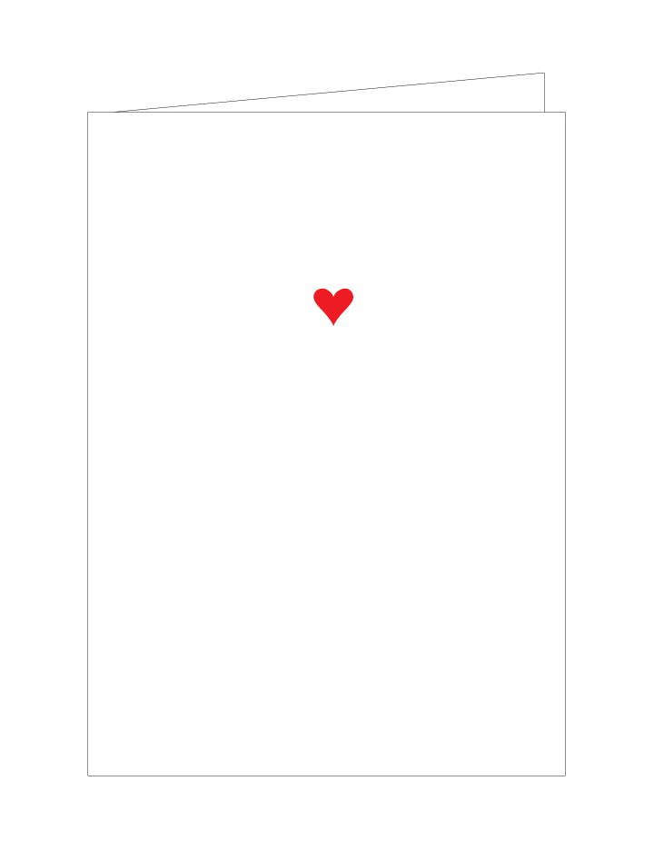Mini Heart Note Cards