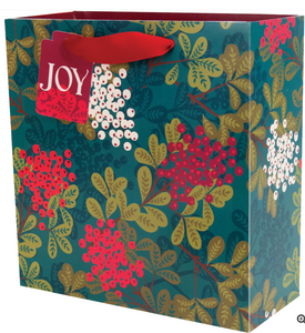 Very Berry Mélange Recycled Kraft Gift Bag