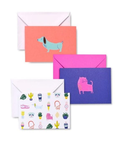 Zoomerang Icon Note Cards