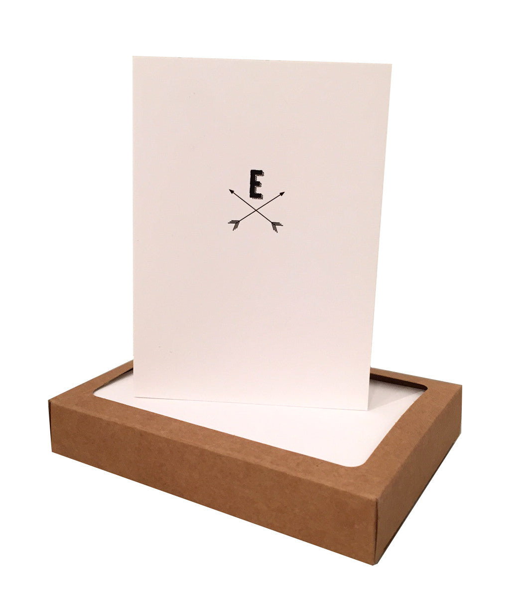 Arrow Initial Note Cards