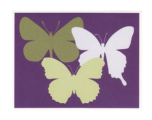 On Paper Butterflies Notes - Set of 8 *Retired*