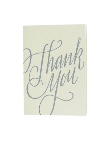 Oblation Calligraphy Thank You Note Set