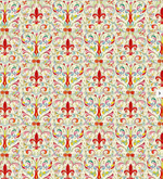 Load image into Gallery viewer, Florentine Gift Wrap - Red Fleur de Lis