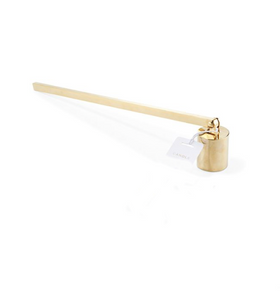 gold candle snuffer available at On Paper