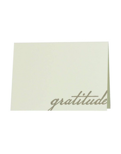 Gratitude Thank You Note, Set of 6