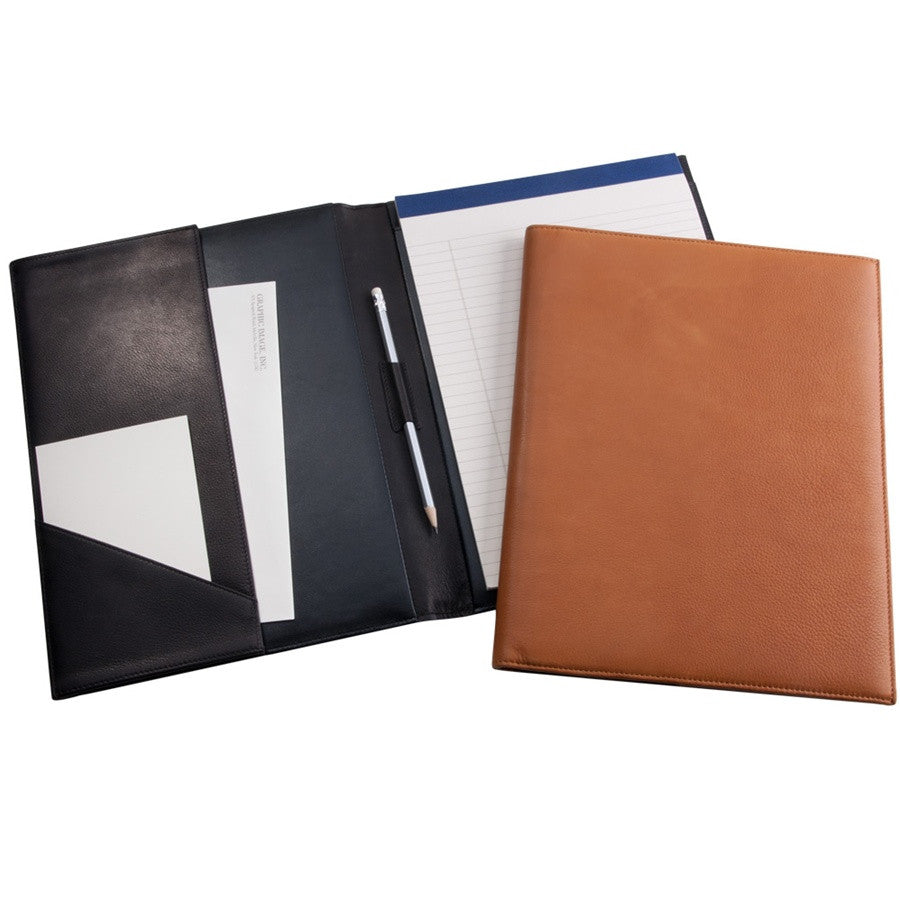 Leather Pad Folio