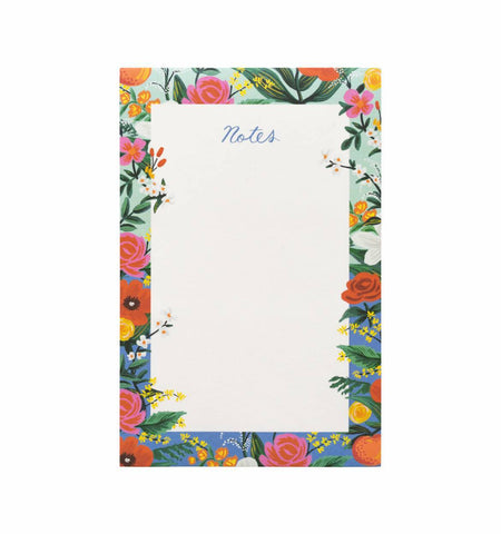 rifle paper company orangeries note pad