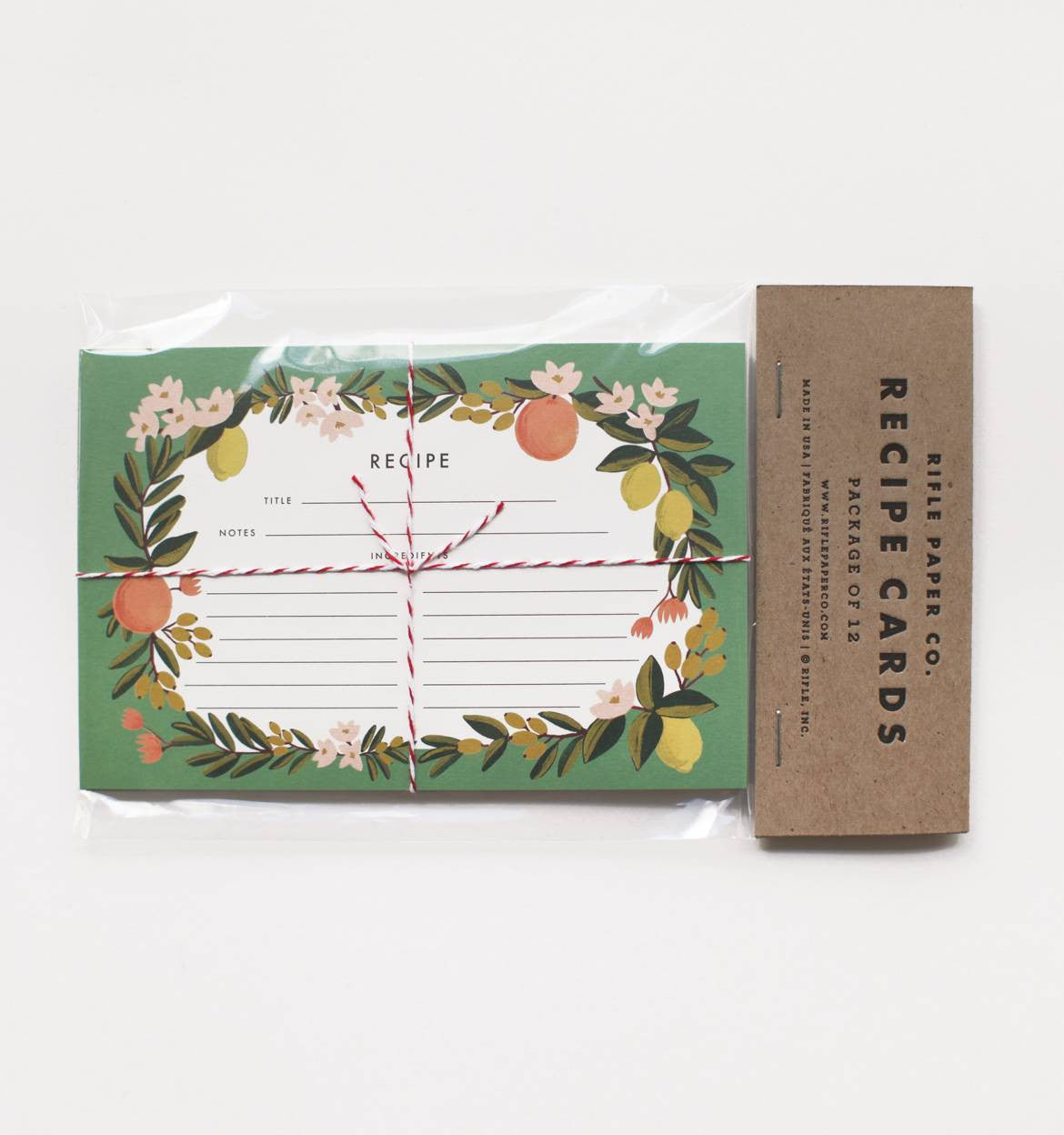Rifle Paper Co Recipe Cards