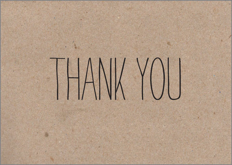 Scrawl Thank You Notes