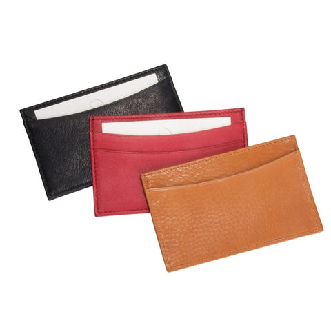 Slim Leather Business Card Case