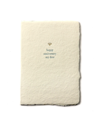 Oblation Small Anniversary Card