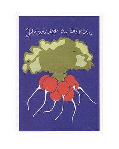 On Paper Bunch of Radish Thank You Notes - Set of 8 *Retired*